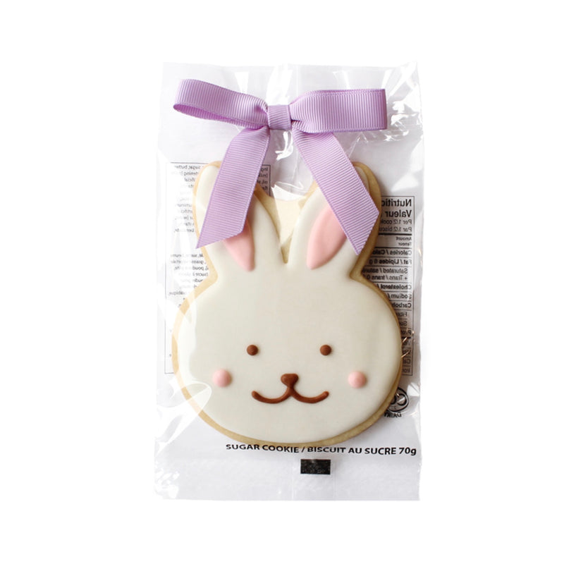 "A Couple of Squares ""Joyful Bunny"" Easter sugar cookie - Le Petite Putti Canada"