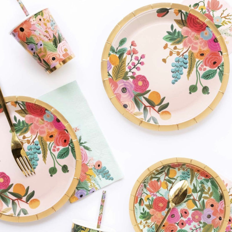 Rifle Paper Co. Garden Party Large Plates  | Le Petite Putti