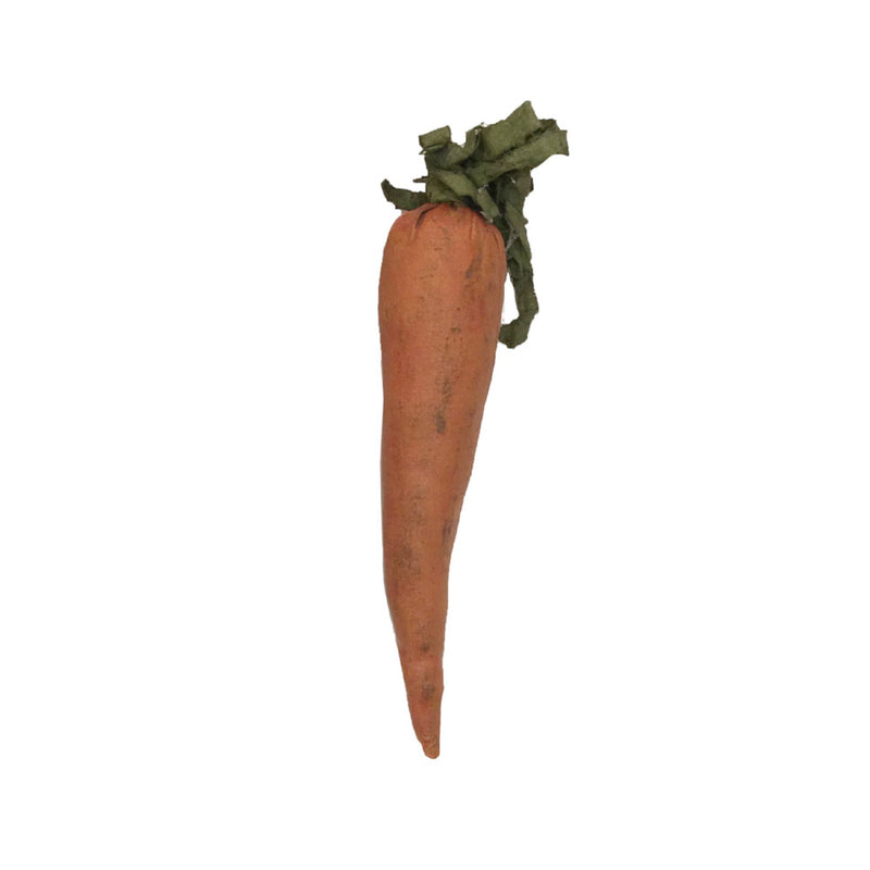 Paper Mache Carrot Decoration