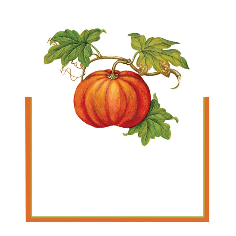 Jardin D'Automne Pumpkin Die Cut Place Card | Putti Celebrations