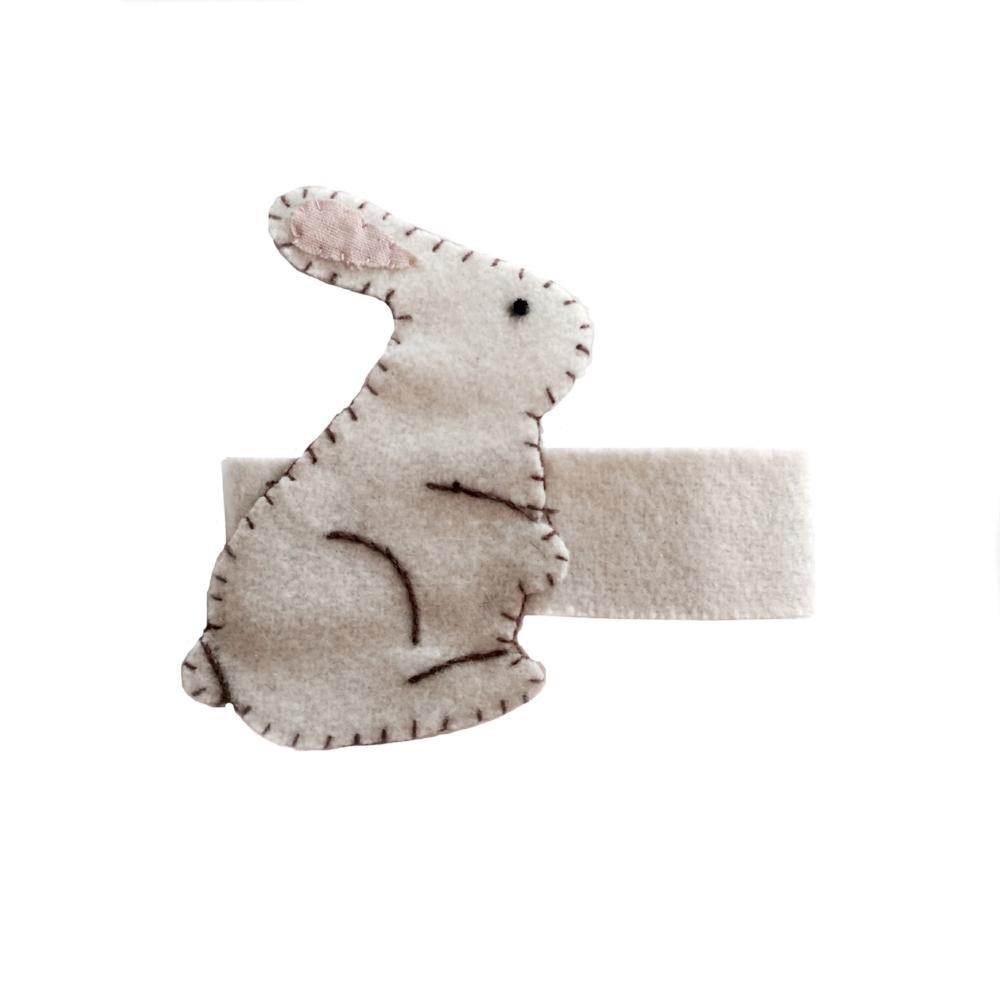 Bunny Wool Napkin Ring | Putti Easter Celebrations
