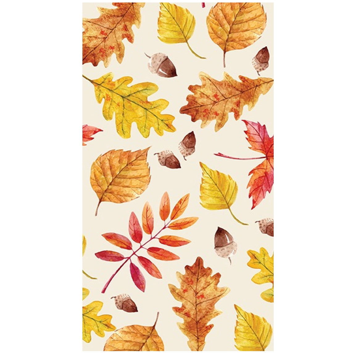Leaves Paper Napkin - Guest | Thanksgiving Celebrations