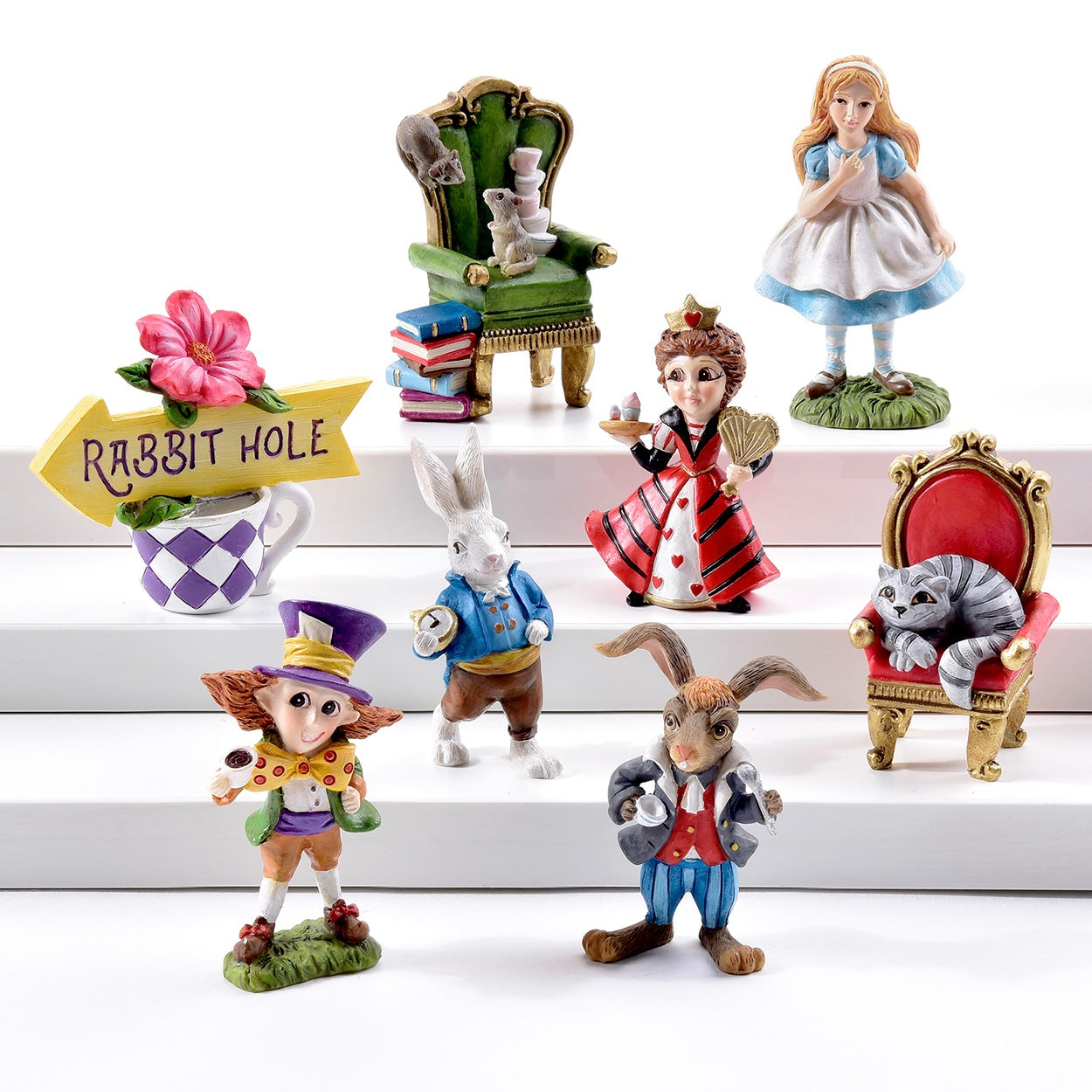 Mini Alice in Wonderland Figurines