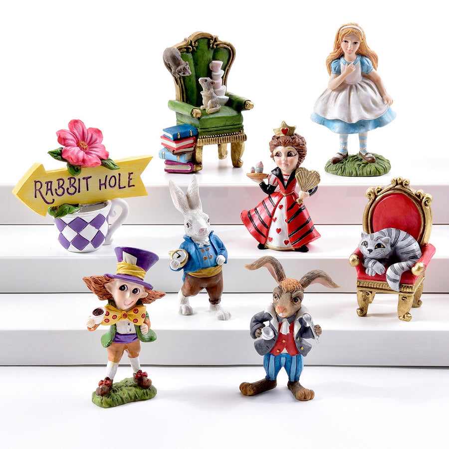Mini Alice in Wonderland Set