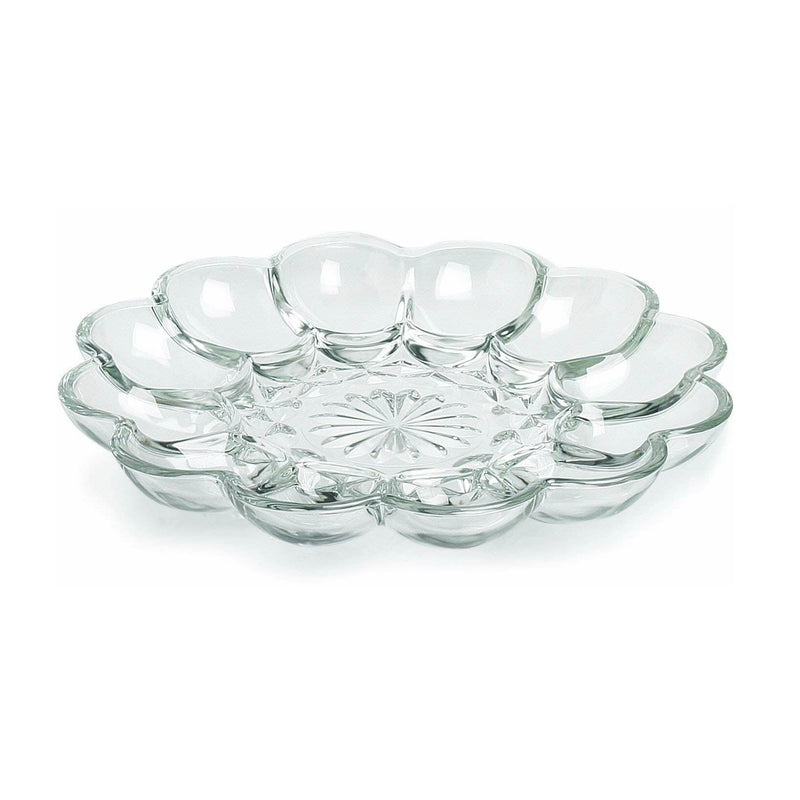 Glass Egg Plate | Putti Fine Furnishings