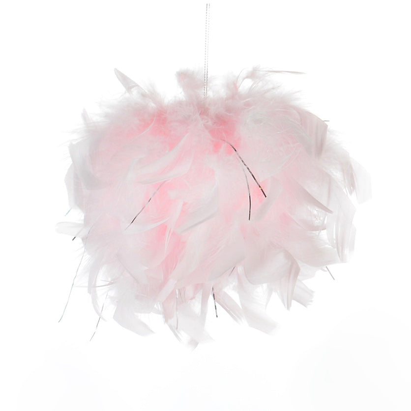 Pink Feather Pom Pom | Putti Celebrations