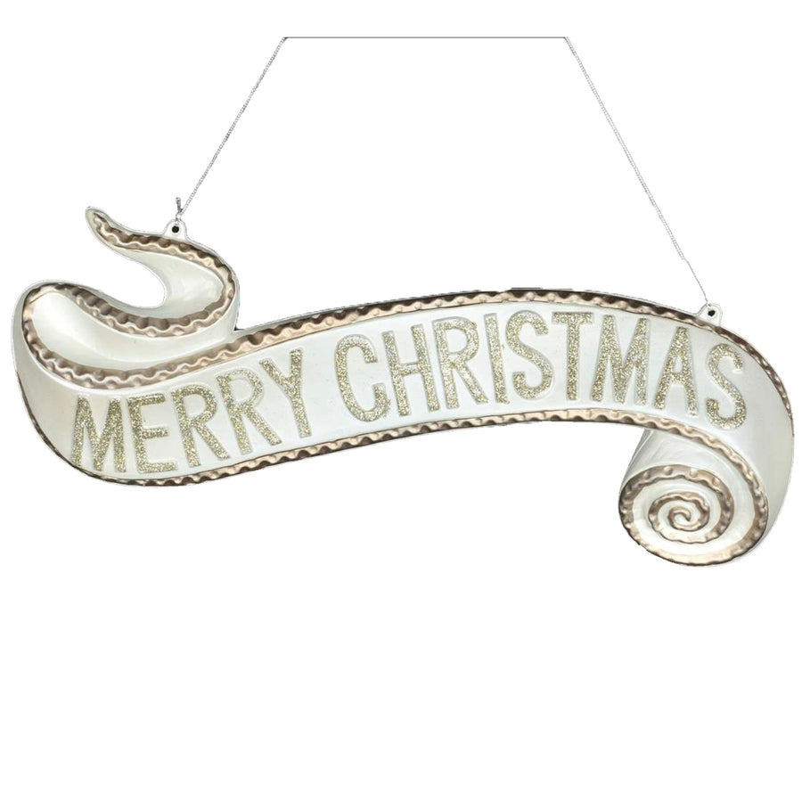 """Merry Christmas"" Hanging Banner"