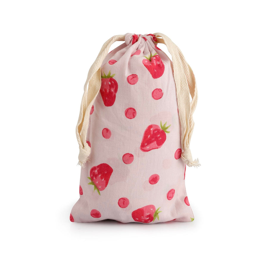 """Strawberry"" Pink Pyjama Pant in Bag"