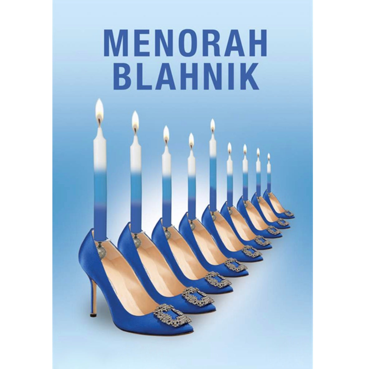 Menorah Blahnik Hanukkah Card | Putti Celebrations