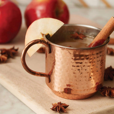 Thymes Simmered Cider Copper Mug Candle | Putti Fine Furnishings