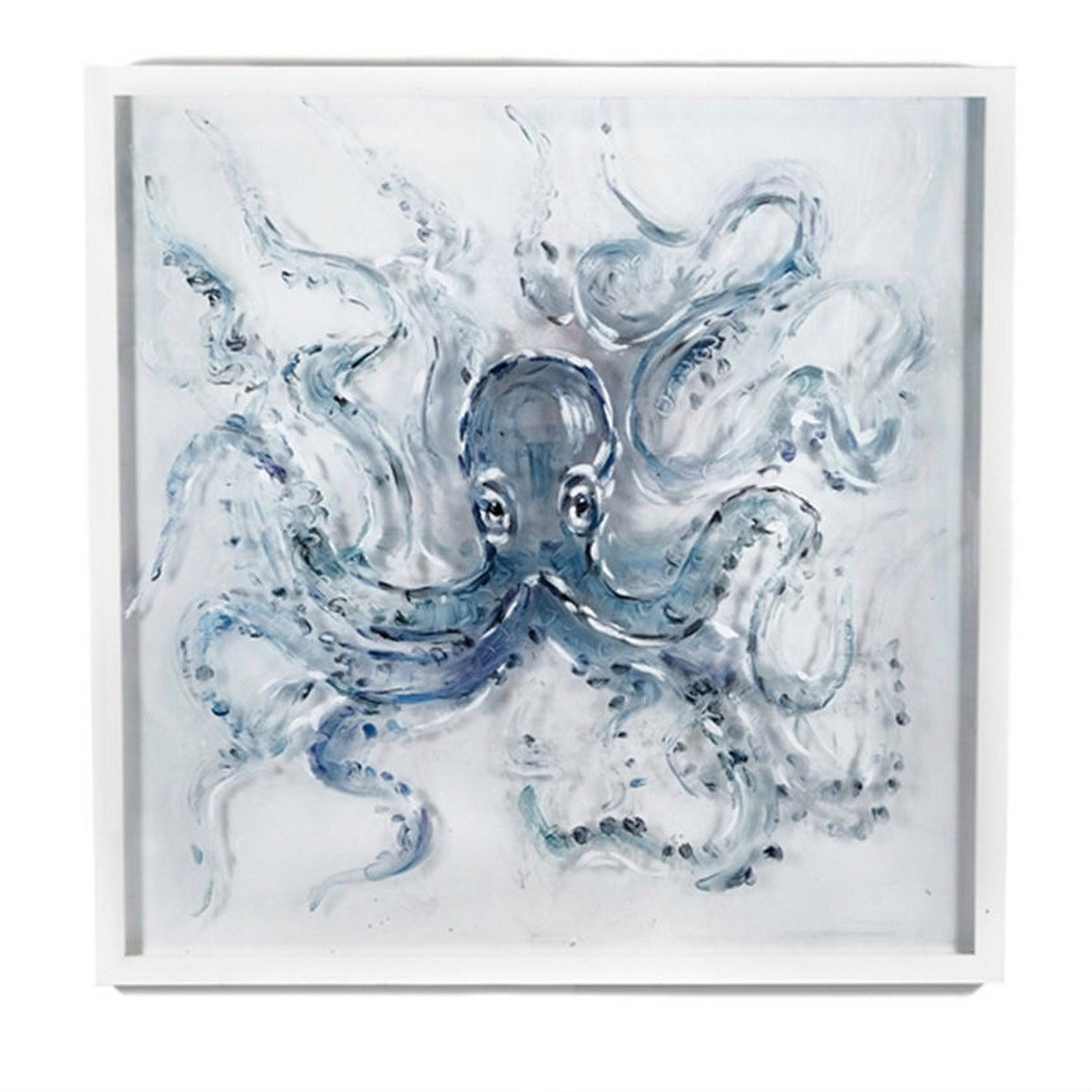 Tozai Hand Painted Octopus Wall Art