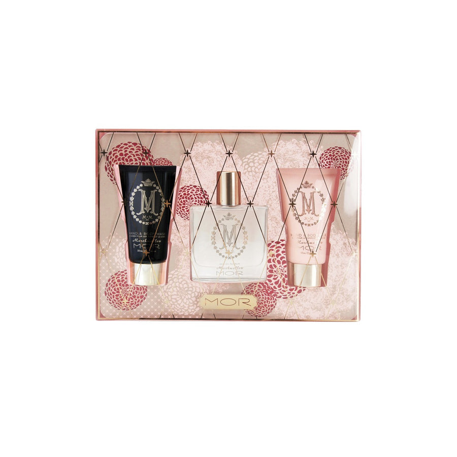 "Mor ""Marshmallow Moments""- Perfume,Hand Cream and Body Wash Gift Set"