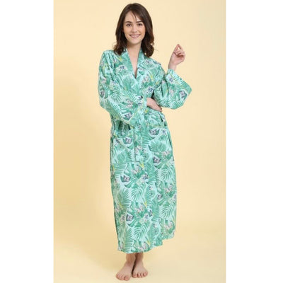 "Mahogany ""Tropical Breeze"" Long Robe 