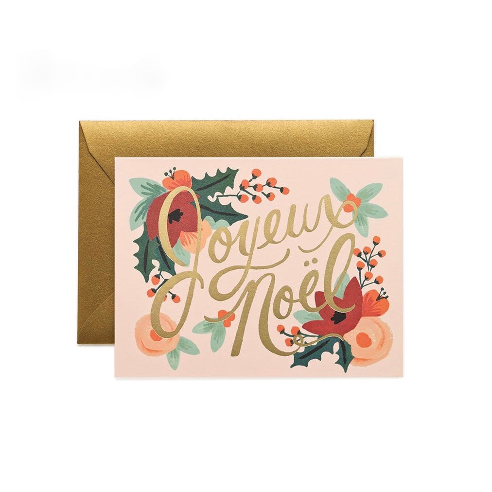 "Rifle Paper Co. ""Joyeux Noel"" Boxed Christmas Cards 