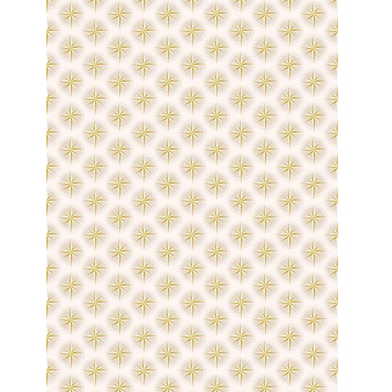 """Golden Stars"" Christmas Wrapping Paper Roll"