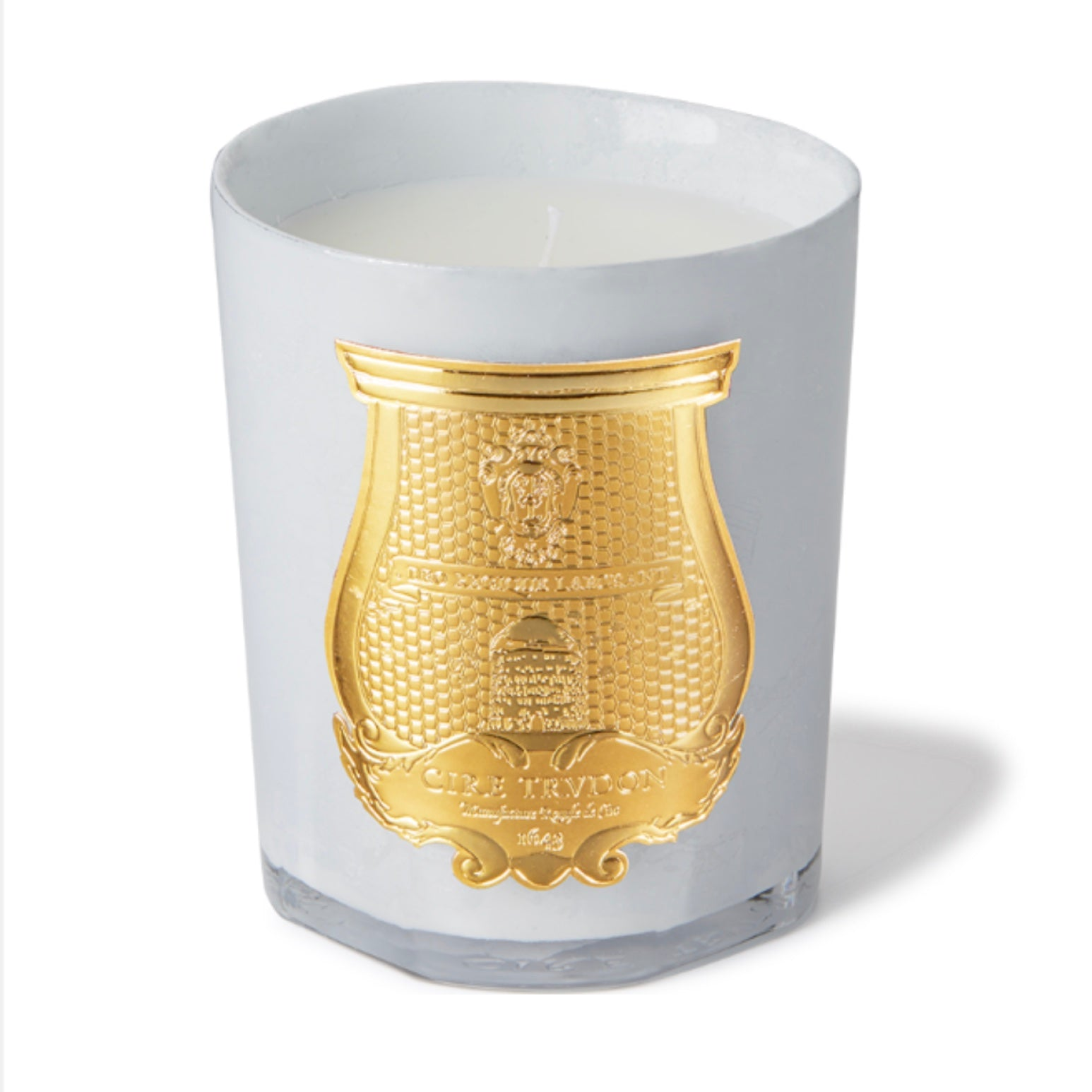 Cire Trudon Abd el Kader Metallic White Candle Holliday 2019 | Putti Canada