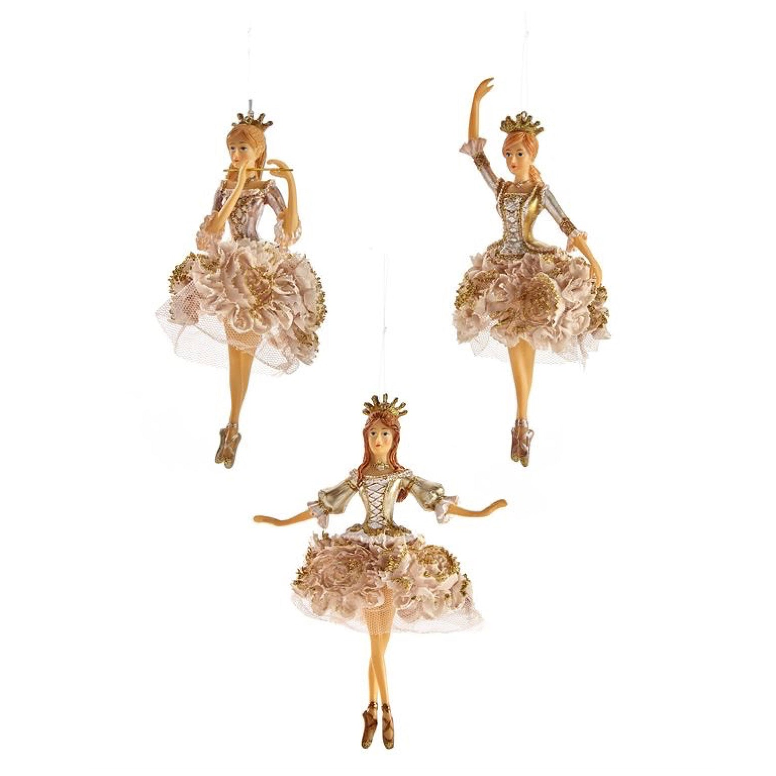 Champagne Ballerina Ornament | Putti Christmas Celebrations