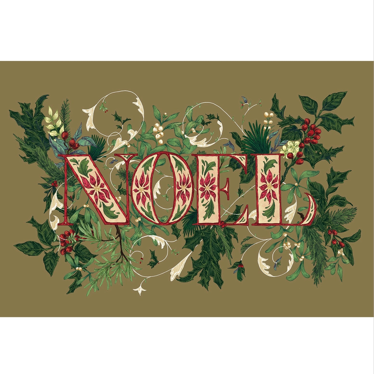 "Hester & Cook ""Noel"" Paper Placemats"