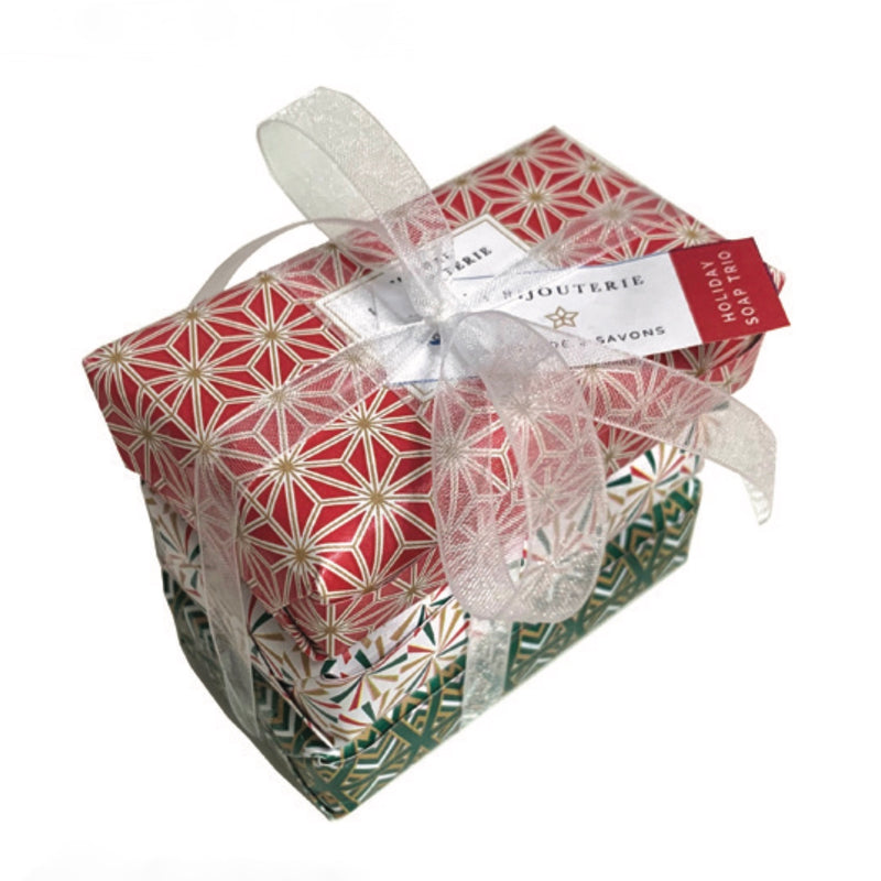Mistral Les Bijouterie French Christmas Soap 3pc Set | Putti Canada