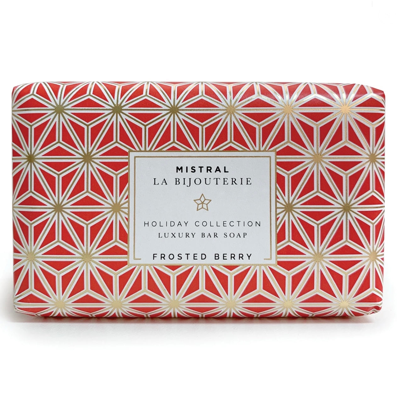 Mistral Les Bijouterie French Christmas Soap - Frosted Berry | Putti