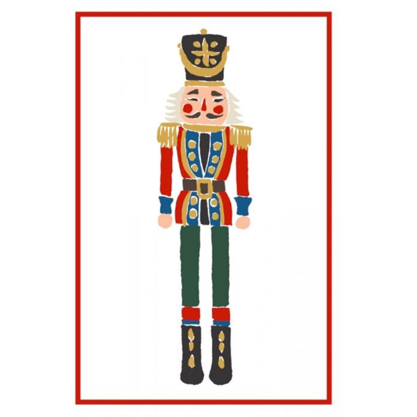 Nutcracker Flour Sack Kitchen Towel - Set of 2