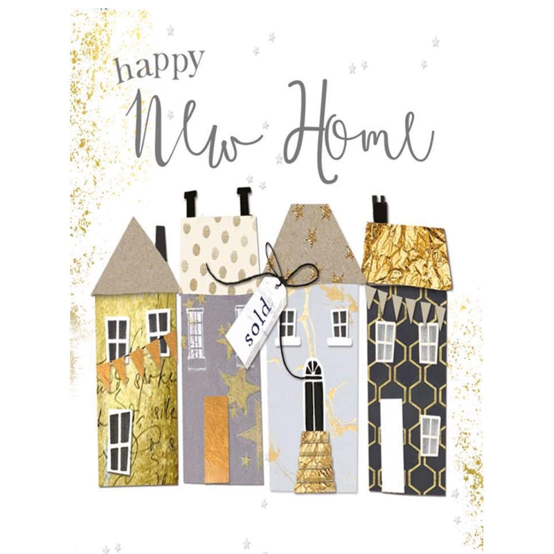 """Happy Nw Home"" Greeting Card 