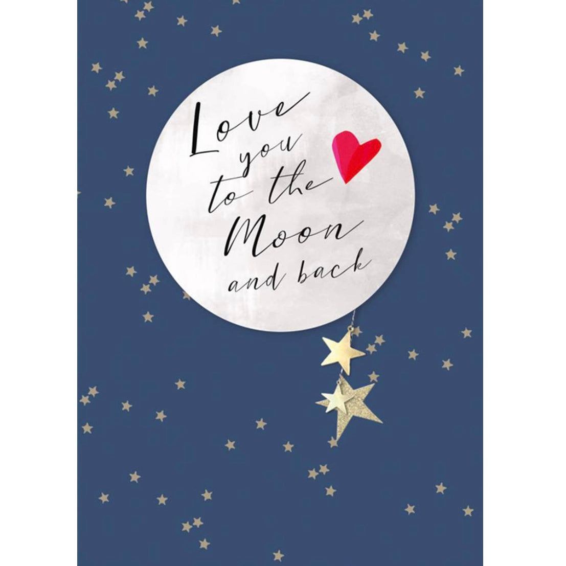 "Hammond Gower ""Love You to the Moon and Back"" Greeting Card 