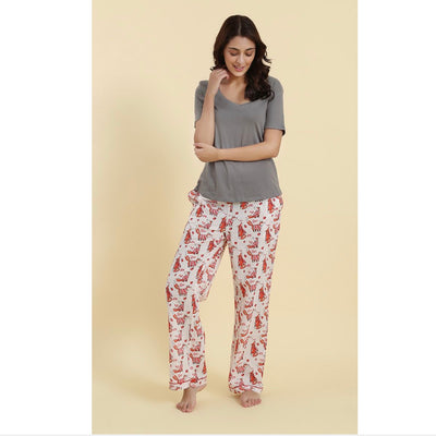 "Mahogany ""A Foxy Christmas"" Pyjama Pant in Bag"
