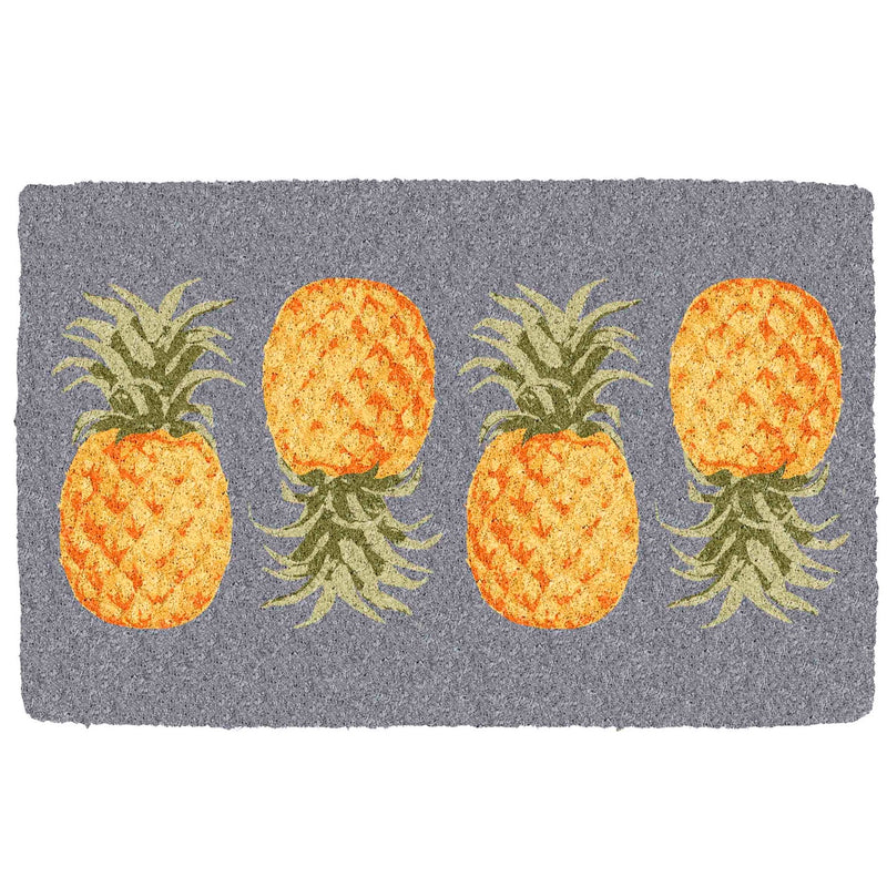 Pineapple Coir Doormat | Putti Fine Furnishings Canada