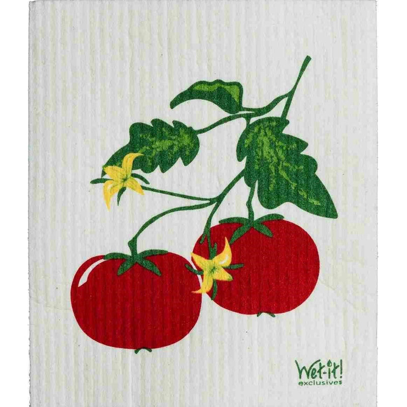 Wet it! Tomato Vine Swedish Cloth | Putti Fine Furnishings Toronto Canada