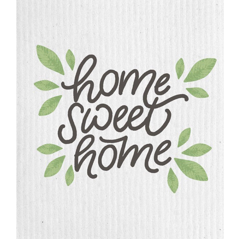 "Wet it! ""Home Sweet Home"" Swedish Cloth"