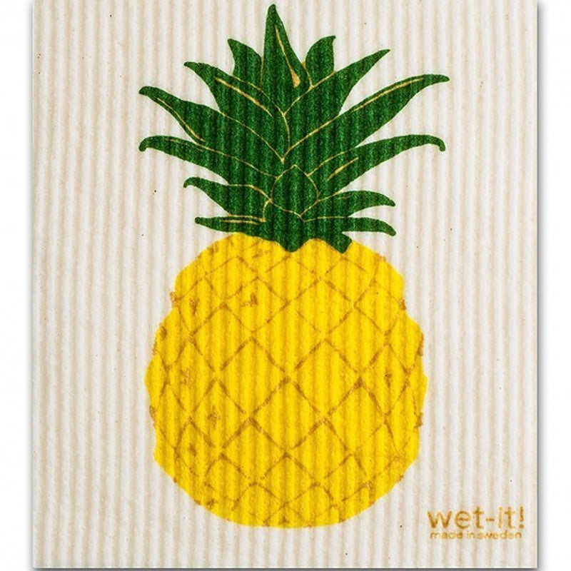 Wet it! Pineapple Swedish Cloth | Putti Fine Furnishings Canada
