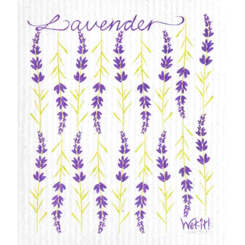 Wet it! Lavender Swedish Cloth