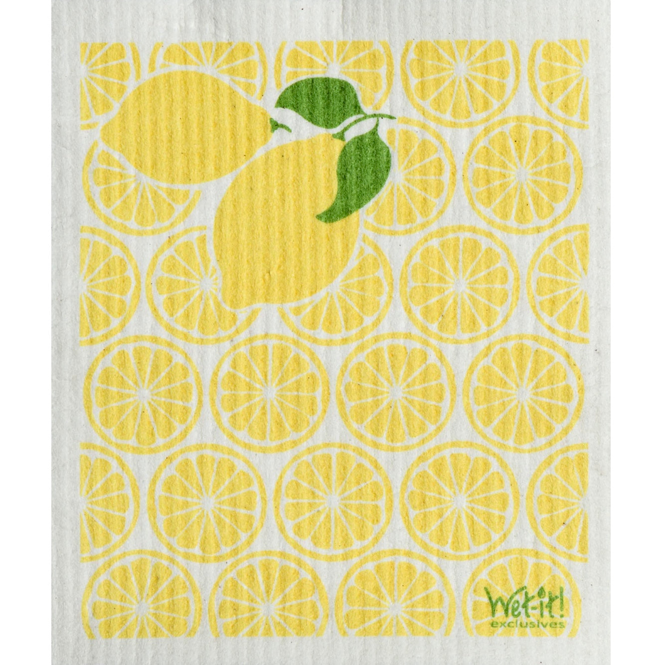 Wet it! Lemonade Swedish Cloth | Putti Fine Furnishings Canada