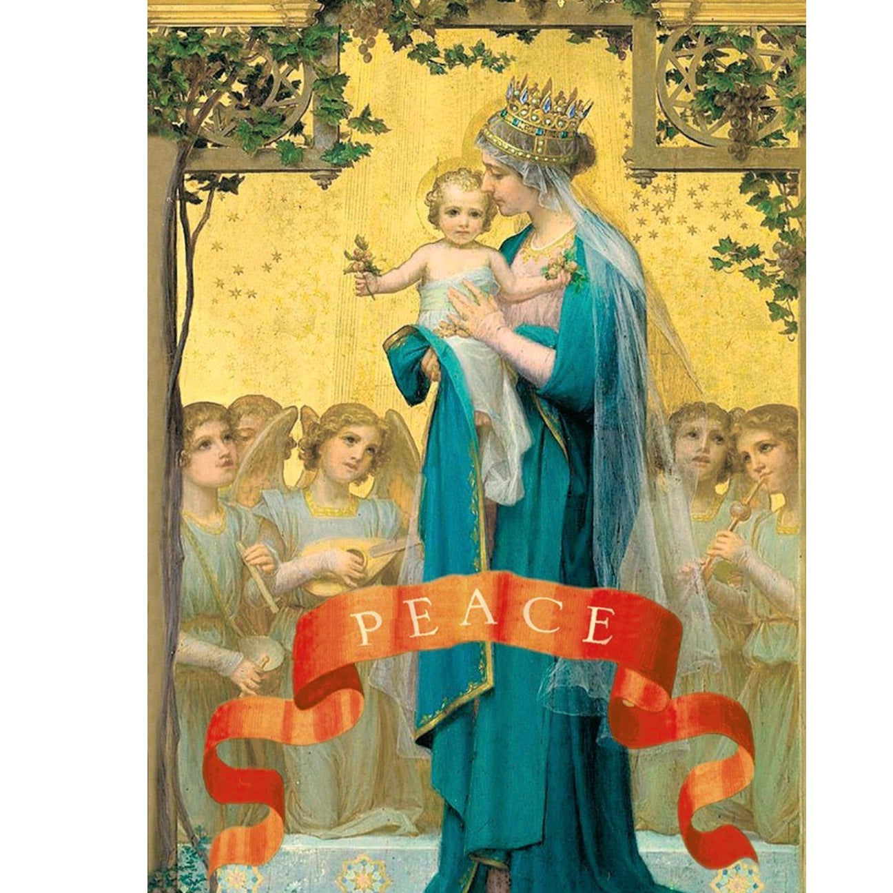Madona Boxed Christmas Greeting Cards | Putti Celebrations
