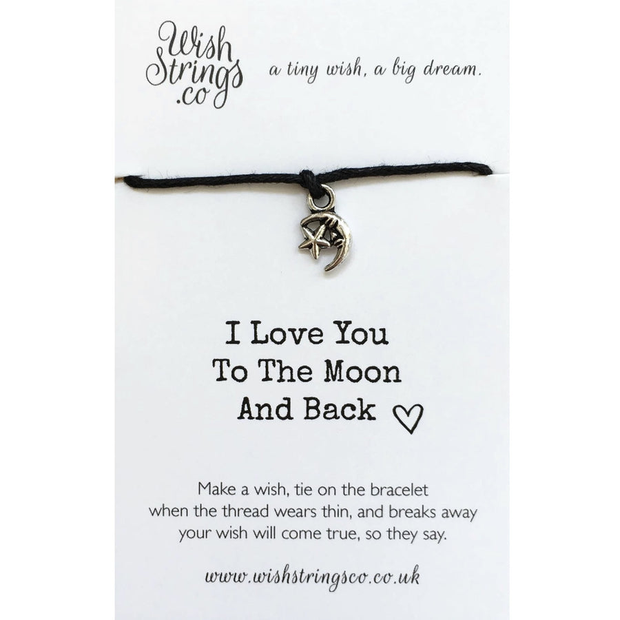 "Wish Strings ""Love you to the moon and back"""
