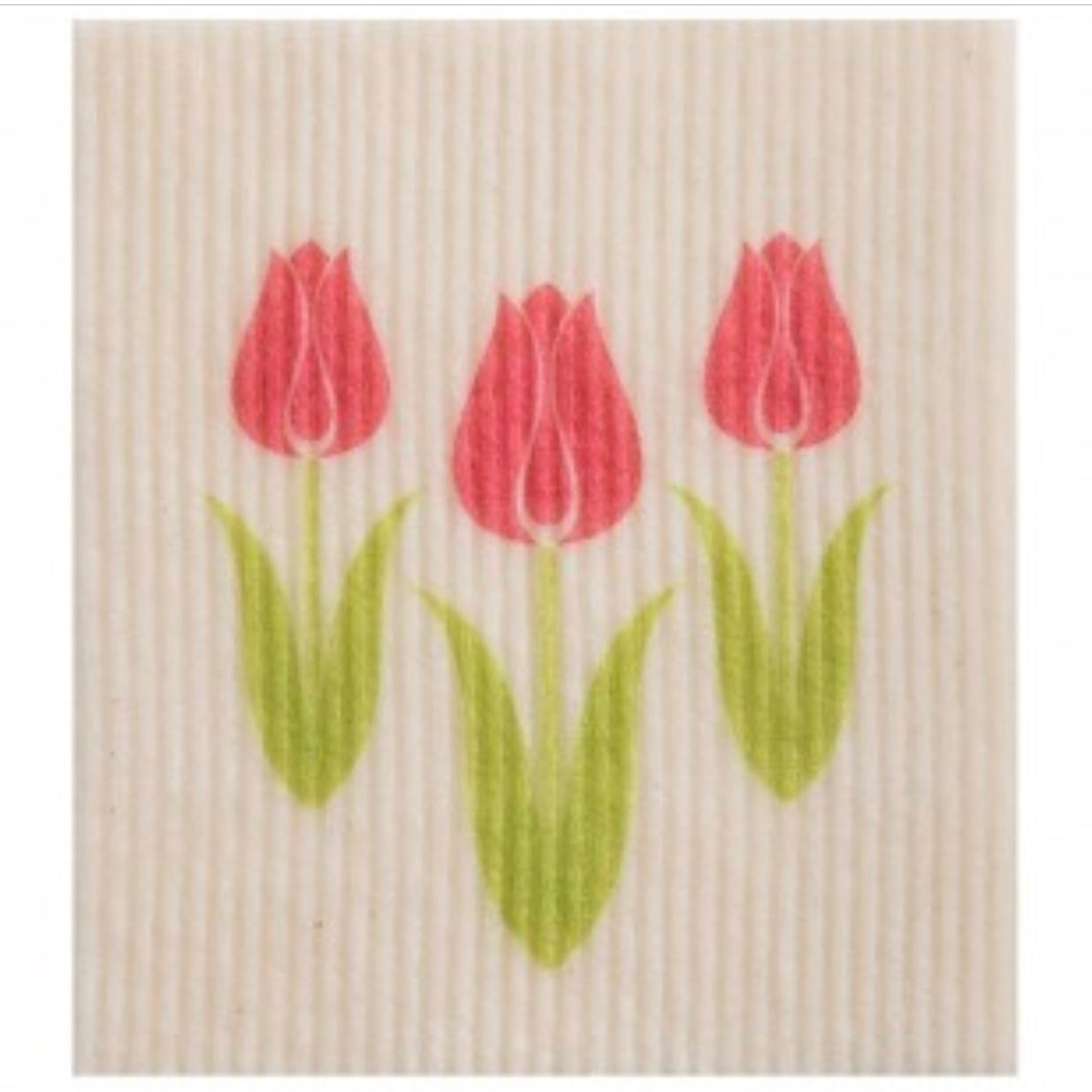 Wet it! Tulips Swedish Cloth