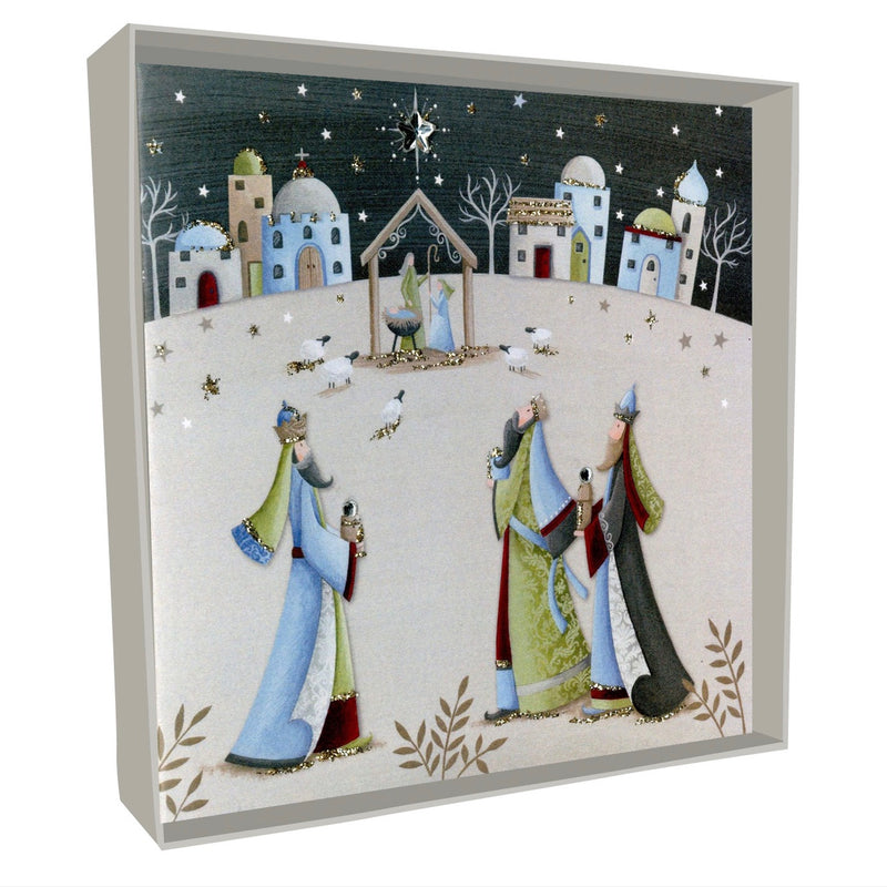 Three Kings Boxed Christmas Greeting Cards