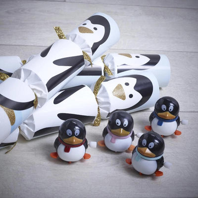 "Robin Reed ""Racing Penguin"" Christmas Crackers"