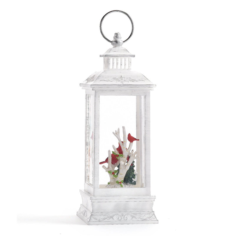 Perpetual Lantern with Cardinals and LED Light | Putti Christmas Celebrations