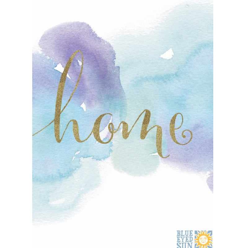 Home Water Color Greeting Card | Putti Canada
