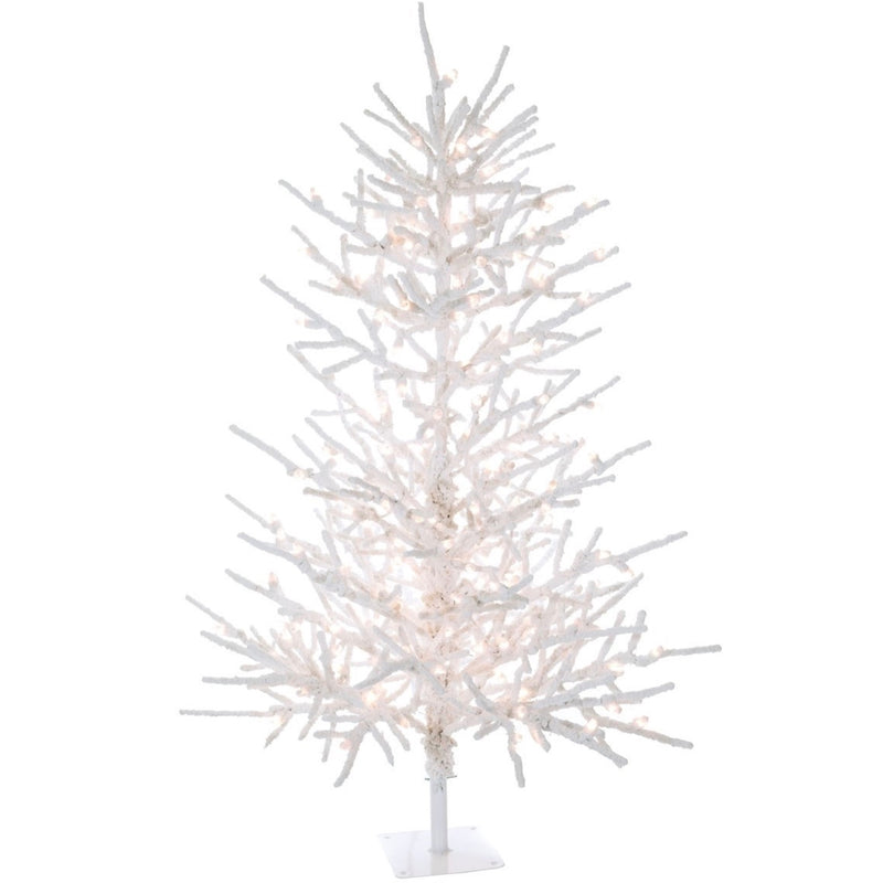 Twig Flocked Wire Tree | Putti Christmas Canada