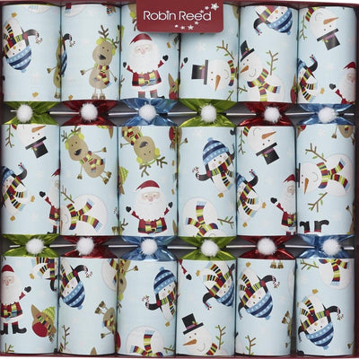 "Robin Reed ""Racing Snowmen"" Christmas Crackers 