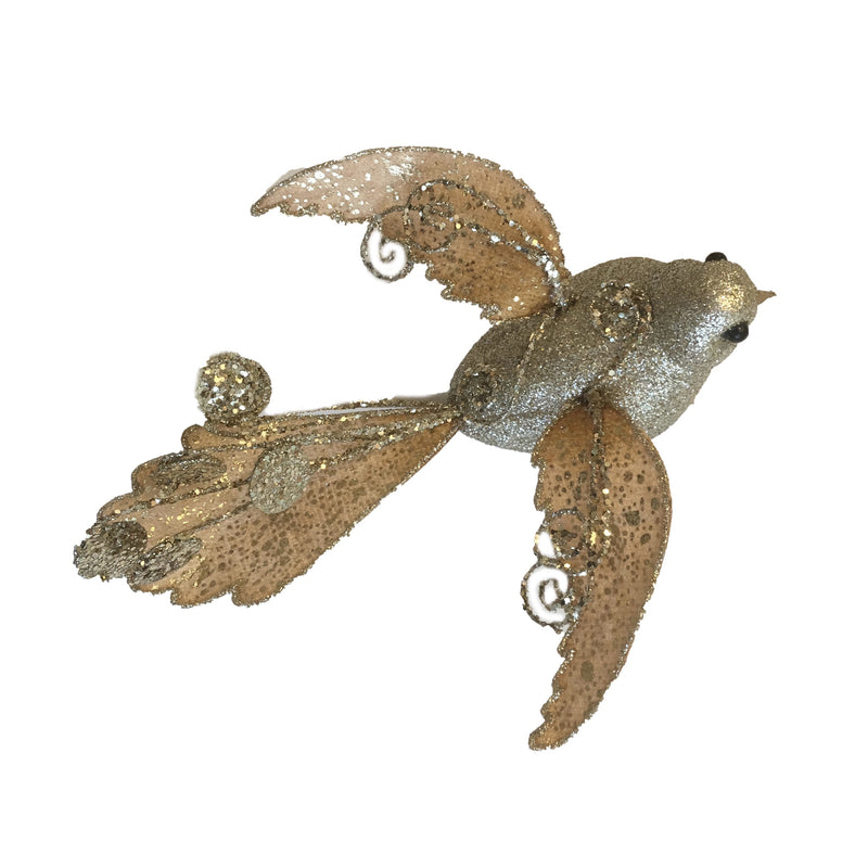 Jim Marvin Fancy Sparrow Ornament - Gold