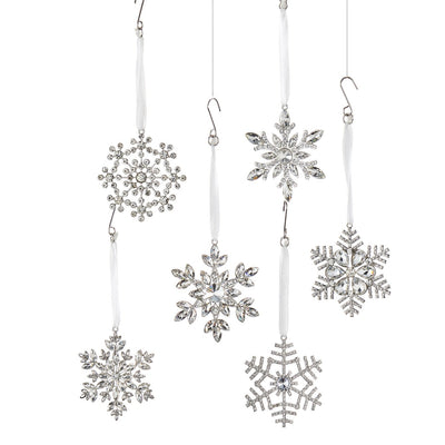 Crystal Snowflake Ornament | Putti Christmas Celebrations