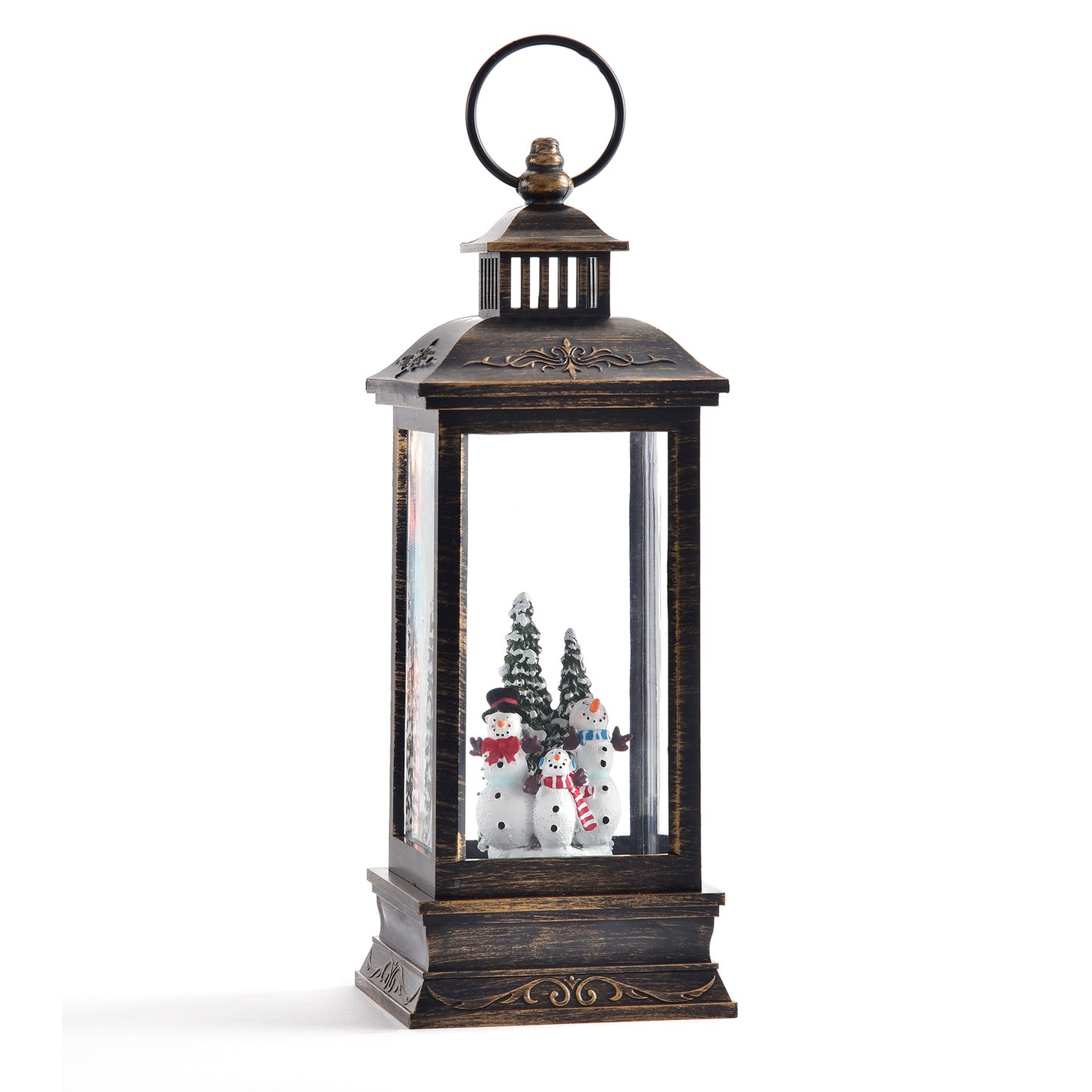 Musical Perpetual Lantern with Snowman and LED Light | Putti Christmas Celebrations