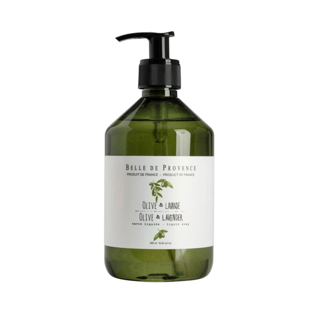 Belle de Provence Liquid Soap - Olive Lavender - Putti Fine Furnishings Canada