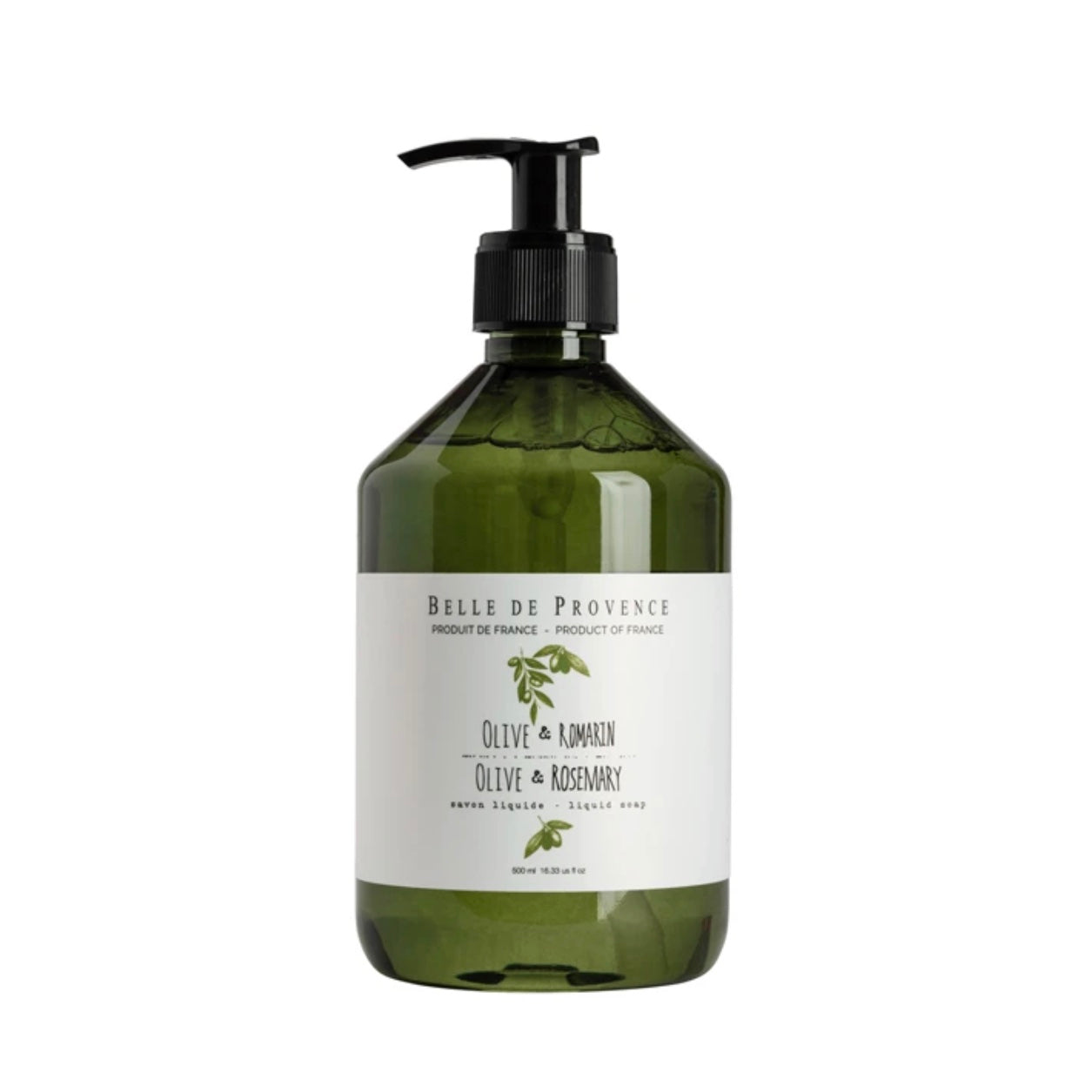 Belle de Provence Liquid Soap - Olive Rosemary