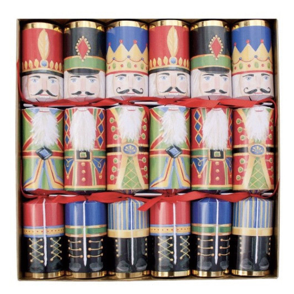 """Nutcrackers"" Christmas Crackers, CI-Caspari, Putti Fine Furnishings"