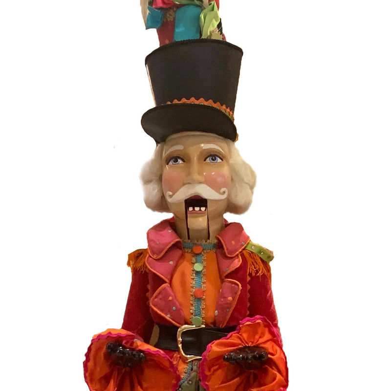 "Katherine's Collection ""Sir Winchell"" Nutcracker Butler"